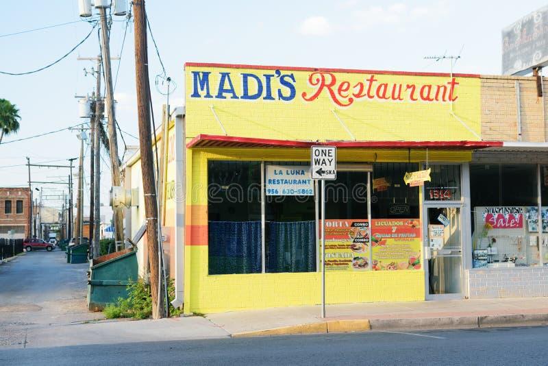 McAllen van de binnenstad, Texas stock foto's