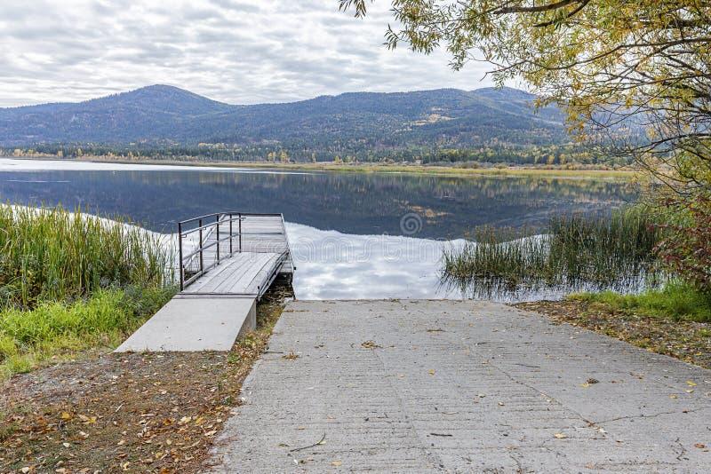 McArthurmeer in Noord-Idaho stock foto's
