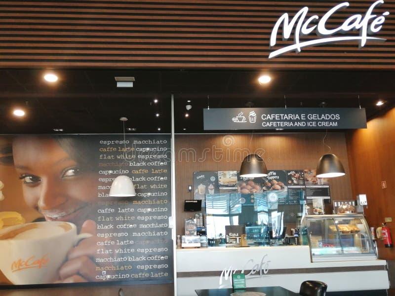 McCafe coffee shop royalty free stock photo