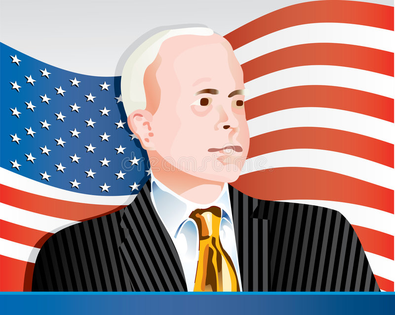 Download McCain Flag editorial photography. Illustration of nation - 5624832