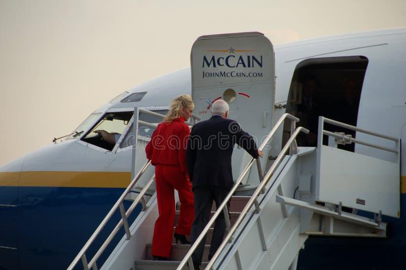 McCain Rally Editorial Photo