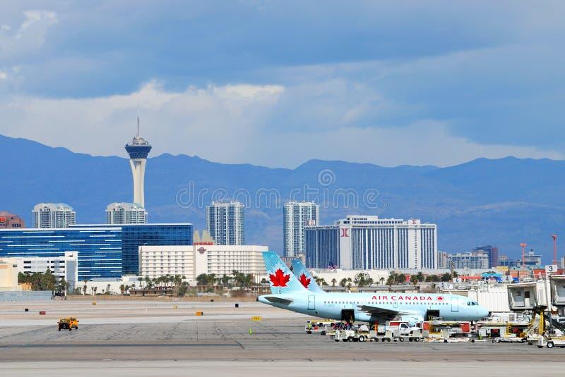 mccarran vegas las авиапорта международное стоковое фото
