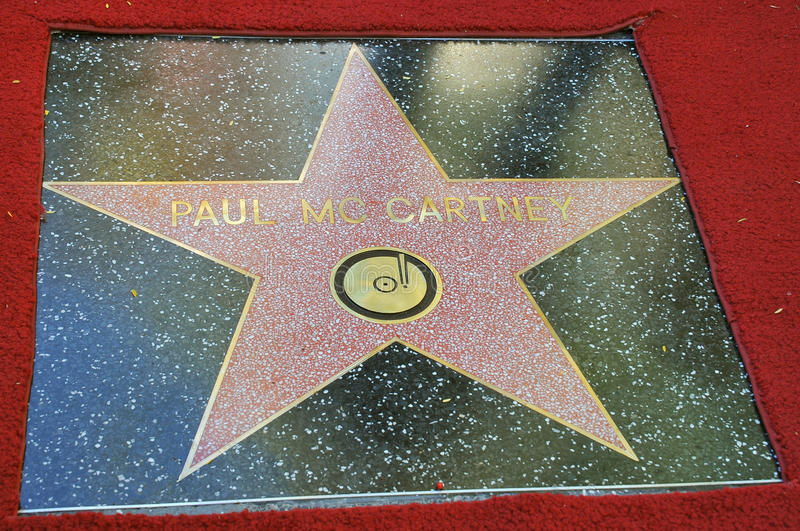 mccartney gwiazda Paul s fotografia royalty free