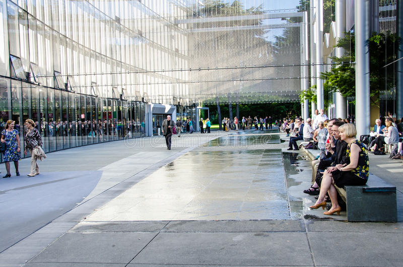 Download McCaw Hall Walkway In Seattle Editorial Photography - Image of people, mccaw: 33136777