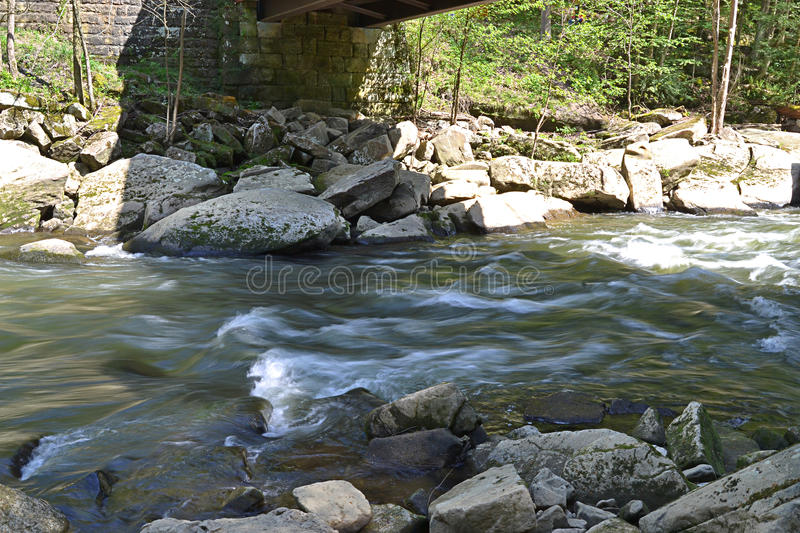 Mcconells mill exposure royalty free stock photo