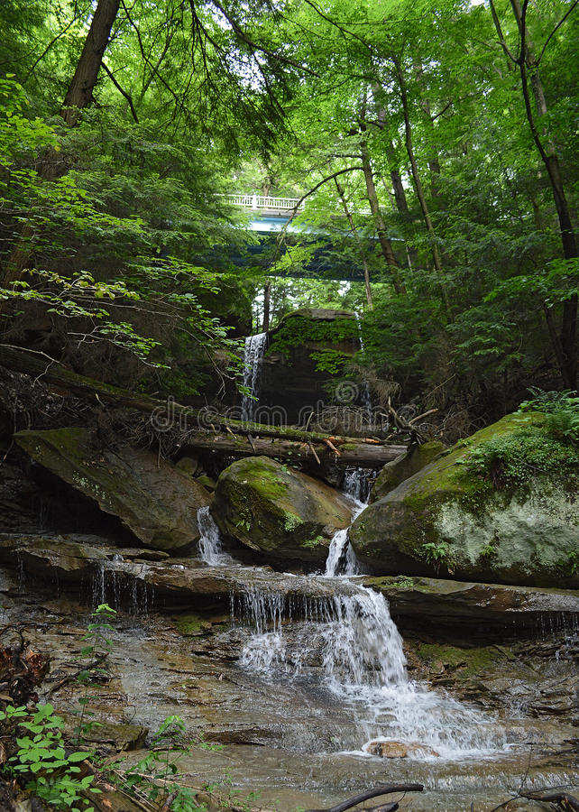 McConnells Mill State Park. Pennsylvania state park in Perry and Slippery Rock Townships, Lawrence County, Pennsylvania in the United States stock photography