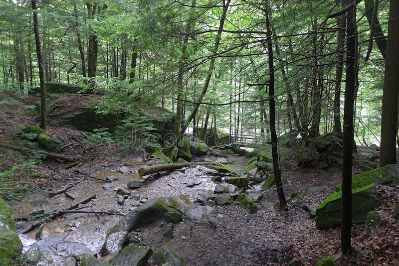 McConnells Mill State Park. Pennsylvania state park in Perry and Slippery Rock Townships, Lawrence County, Pennsylvania in the United States stock photos