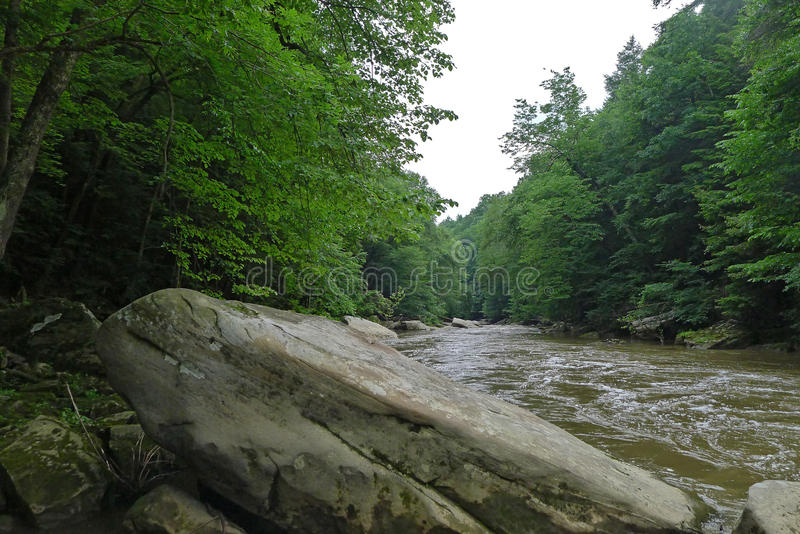 McConnells Mill State Park. Pennsylvania state park in Perry and Slippery Rock Townships, Lawrence County, Pennsylvania in the United States stock images