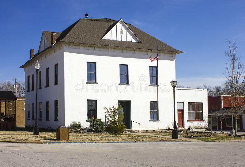 Download Historic 1870 McDonald County Mo Courthouse Stock Photo - Image: 30060508
