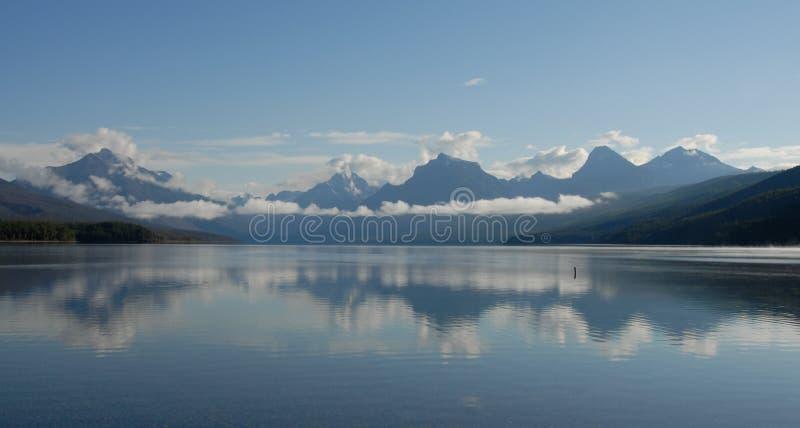 mcdonald jeziorne góry obrazy stock