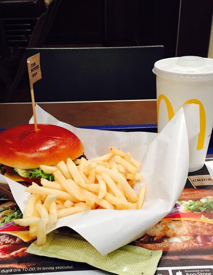 McDonalds meal stock photo