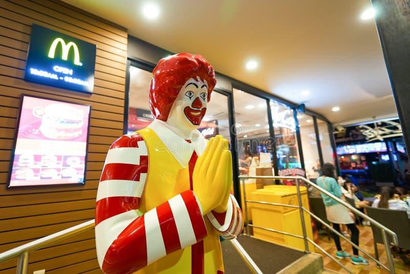 Mcdonald-Restaurant stockfotografie