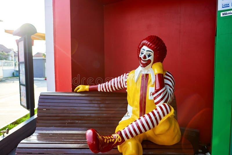Mcdonald-Restaurant stockbilder