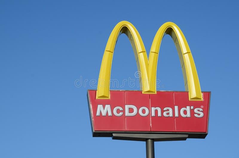 mcdonald s στοκ φωτογραφίες