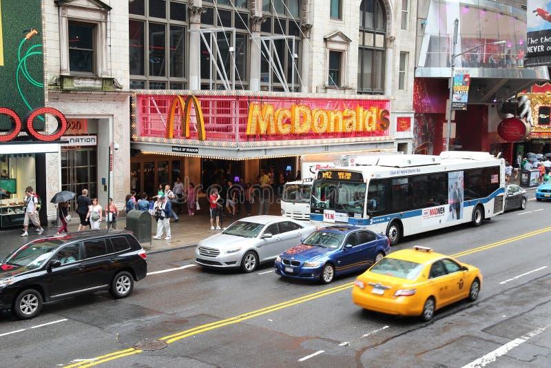 McDonald's Broadway fotos de stock royalty free