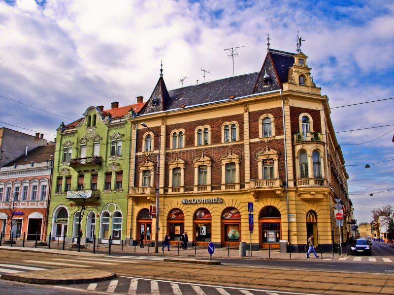 McDonald's a Debrecen immagini stock libere da diritti