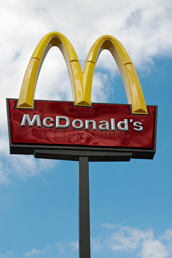 Download McDonalds Sign Editorial Photography - Image: 20893492