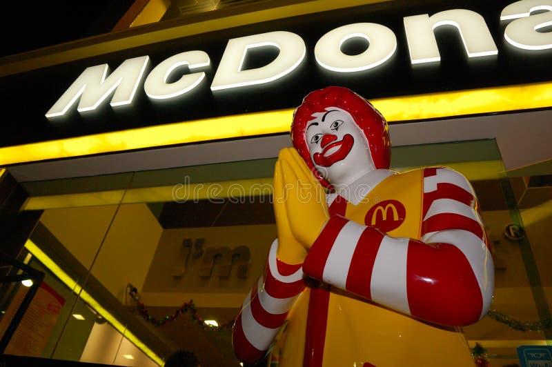 McDonald's tailandês fotos de stock royalty free