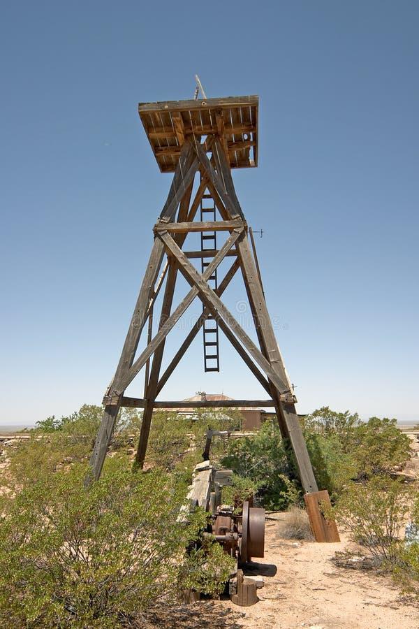 McDonald water tower stock image