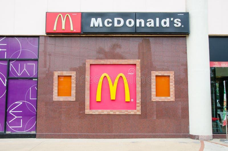 Mcdonals LOGO lizenzfreie stockfotos