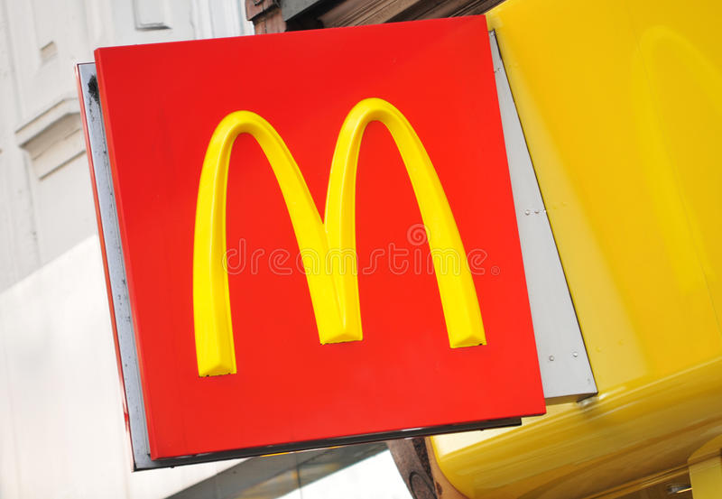 McDonalds fotos de archivo