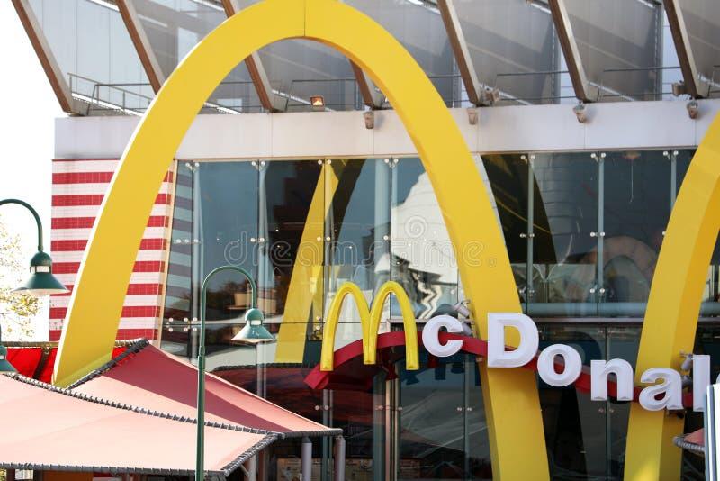 McDonalds logo obrazy royalty free
