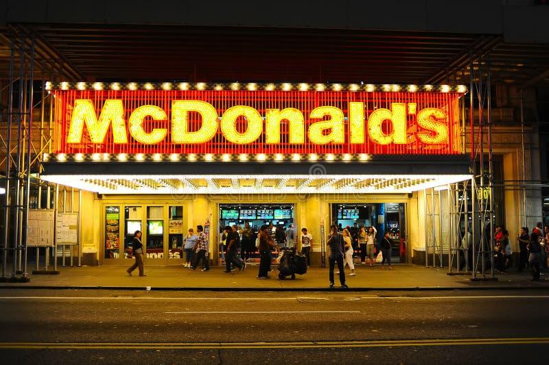 McDonalss Restaurant stockbild