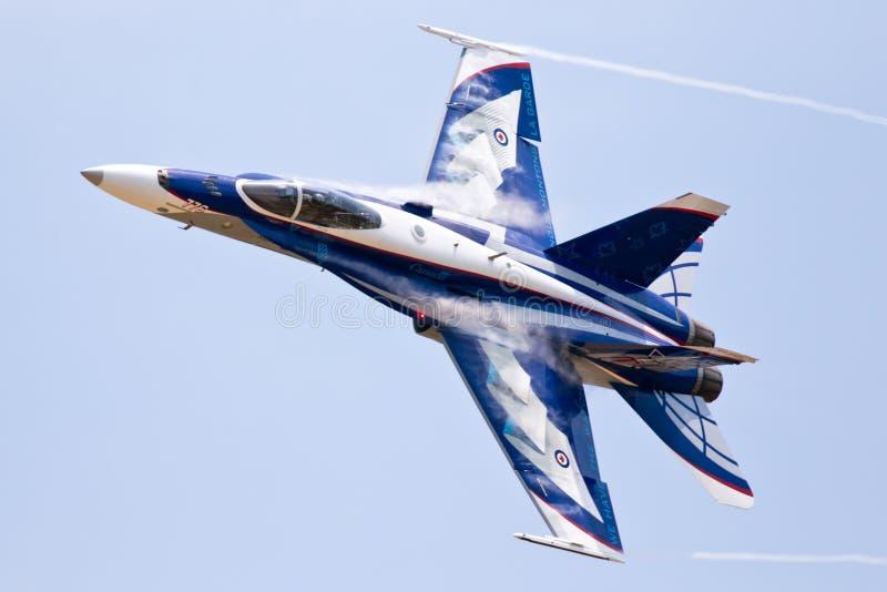 McDonnell Douglas CF-18 szerszeń zdjęcia royalty free