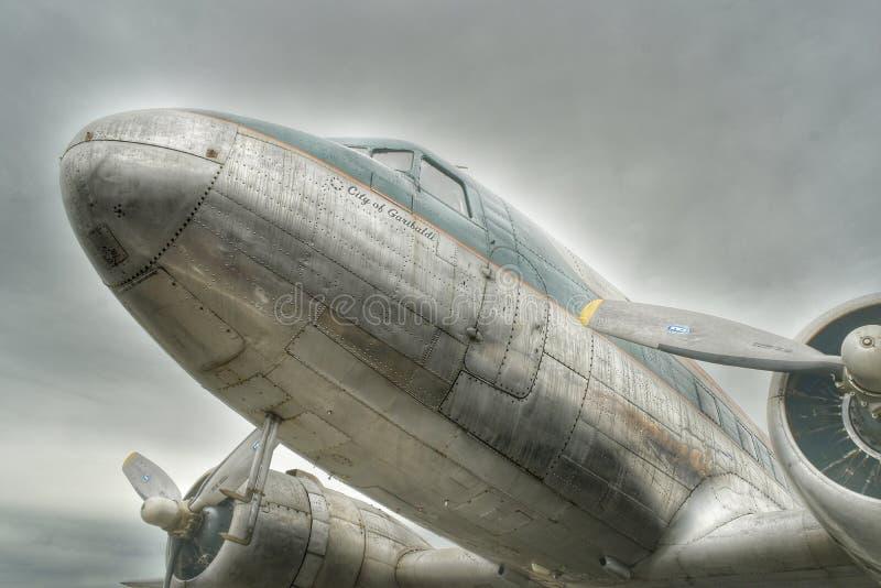 McDonnell Douglas DC-3 стоковое изображение rf