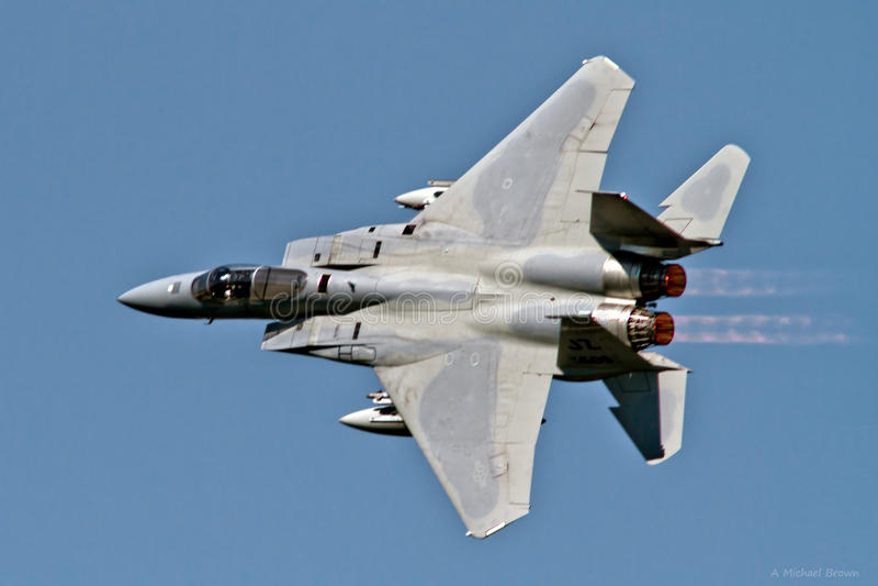 McDonnell Douglas F-15C Eagle fotografia royalty free