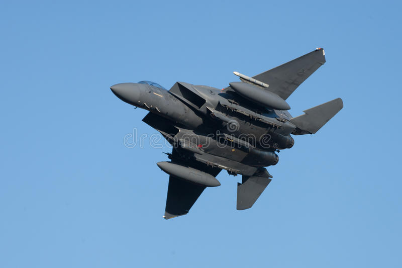 McDonnell Douglas F-15 Eagle lizenzfreies stockbild
