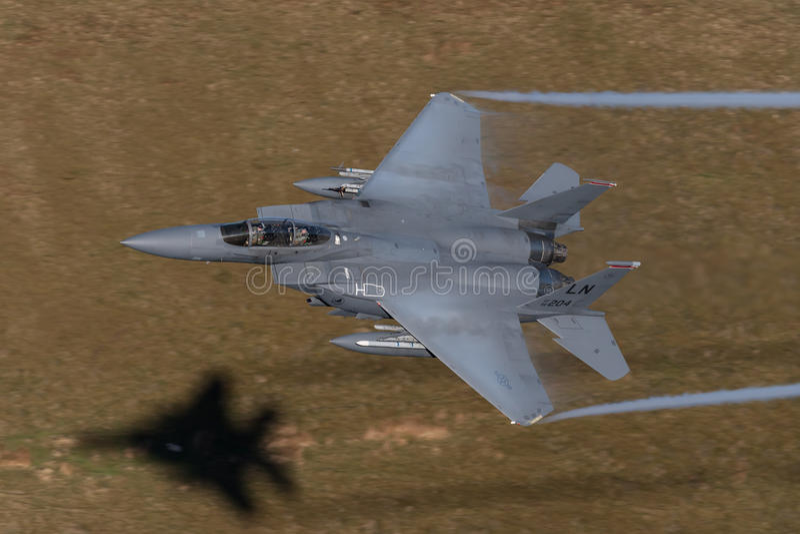 McDonnell Douglas F-15 Eagle lizenzfreies stockfoto