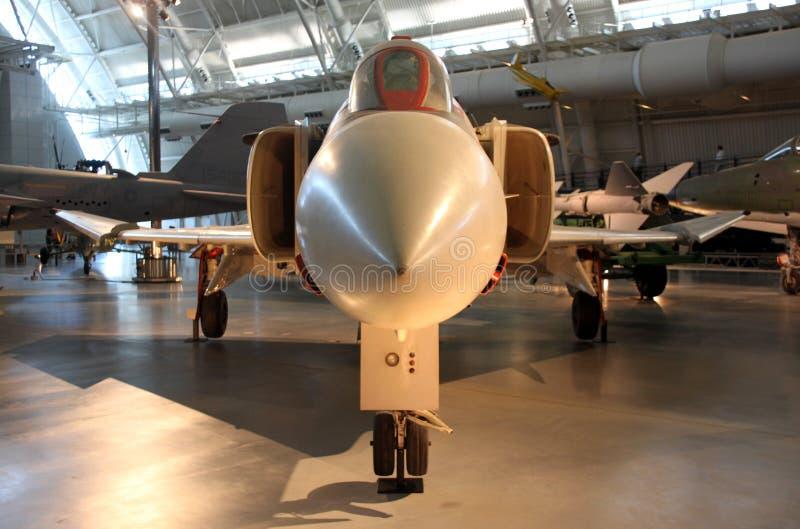 McDonnell Douglas F-4 fantom II/Krajowy powietrze i Astronautyczny muzeum obraz stock