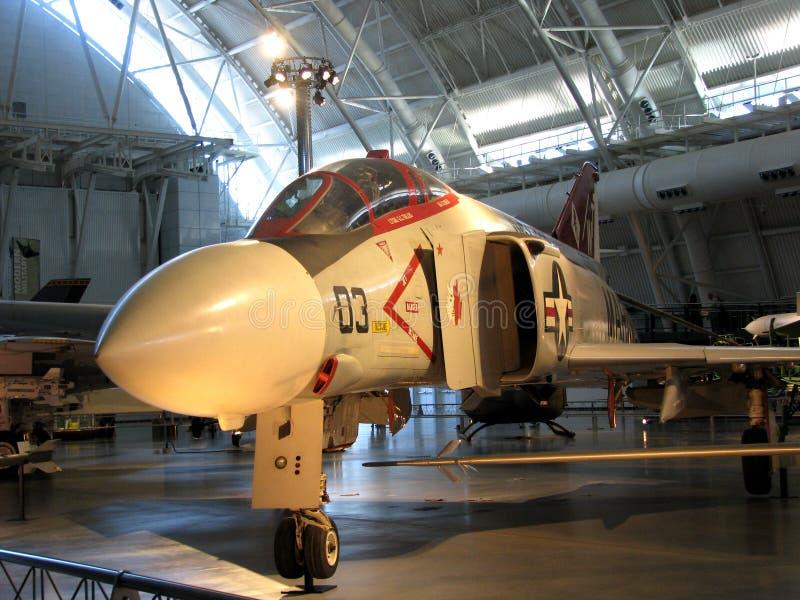 McDonnell Douglas F-4 fantom II/Krajowy powietrze i Astronautyczny muzeum obraz royalty free