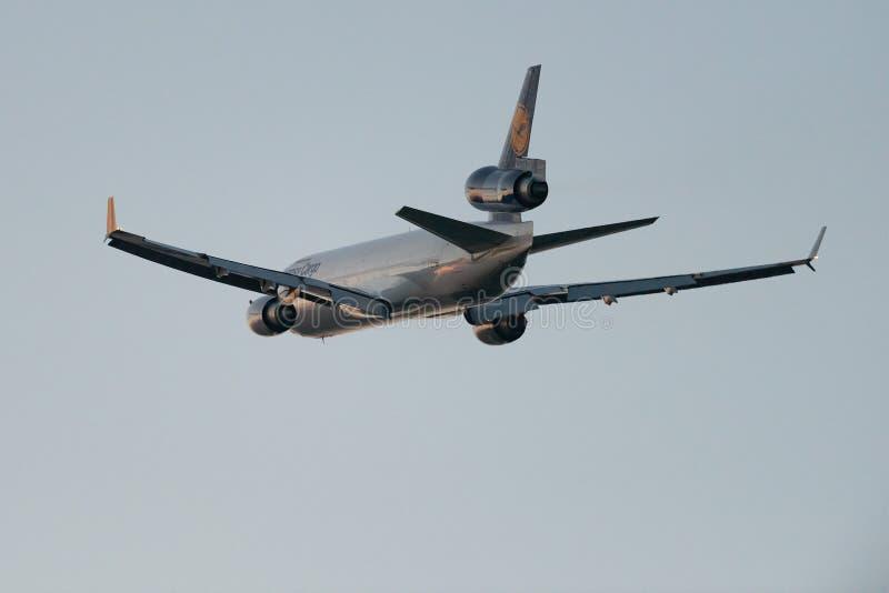 McDonnell Douglas MD-11F D-ALCI Lufthansa Cargo image libre de droits