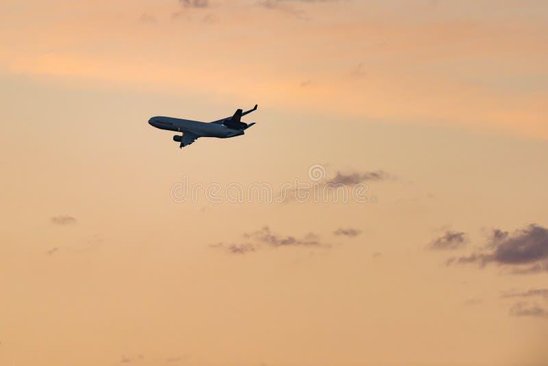 McDonnell Douglas MD-11F D-ALCI Lufthansa Cargo images libres de droits