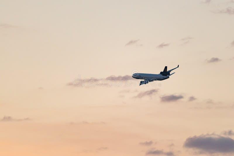 McDonnell Douglas MD-11F D-ALCI Lufthansa Cargo photos libres de droits