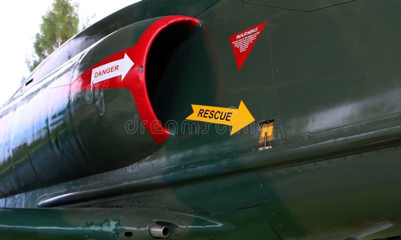 McDonnell Douglas A-4 Skyhawk на дисплее на музее подводной лодки в Klebang A-4 Skyh стоковые фото