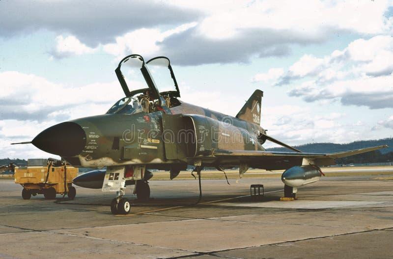 McDonnell RF-4C 64-1038 de la garde nationale d'air de l'Alabama images libres de droits