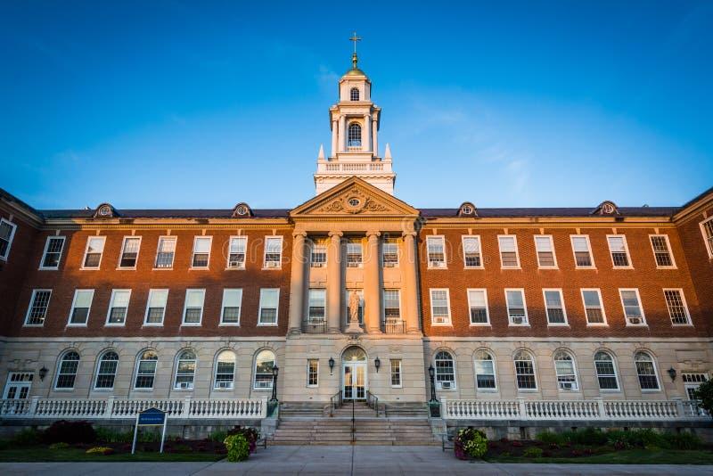 McDonough Hall, an der Universität von Saint Joseph, in Hartford, lizenzfreie stockfotografie