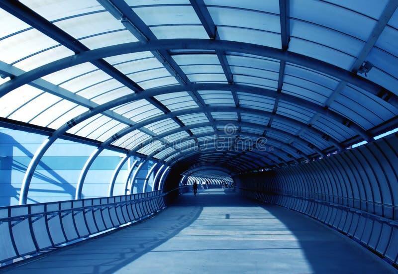 mcg footbridge стоковая фотография rf