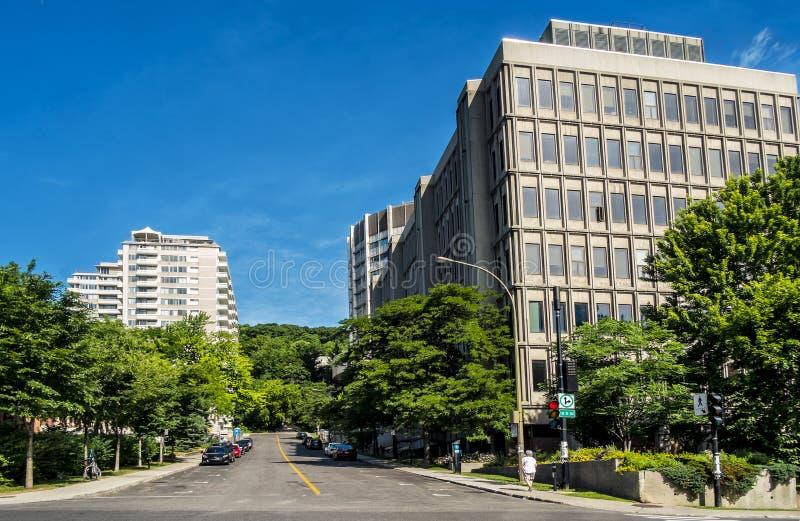 McGill Universitaire scène royalty-vrije stock afbeeldingen
