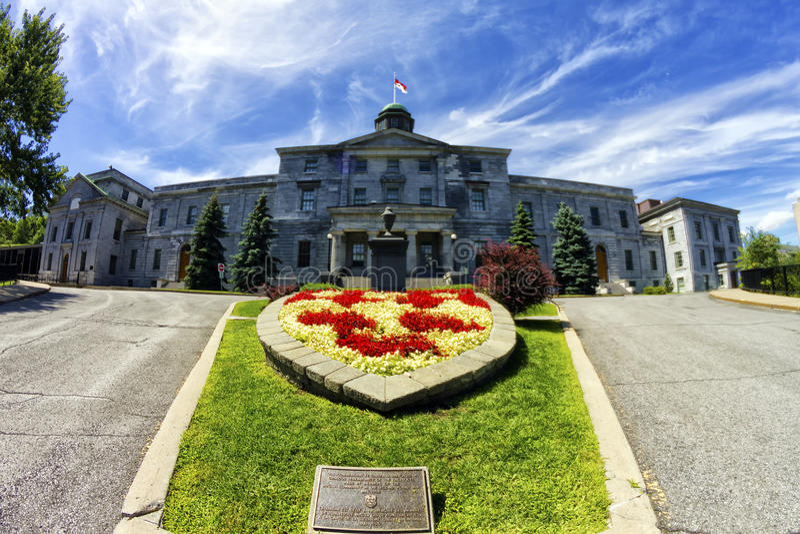McGill uniwersytet obraz stock