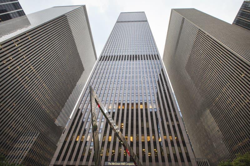 Mcgraw-холм строя Нью-Йорк, США стоковые изображения rf