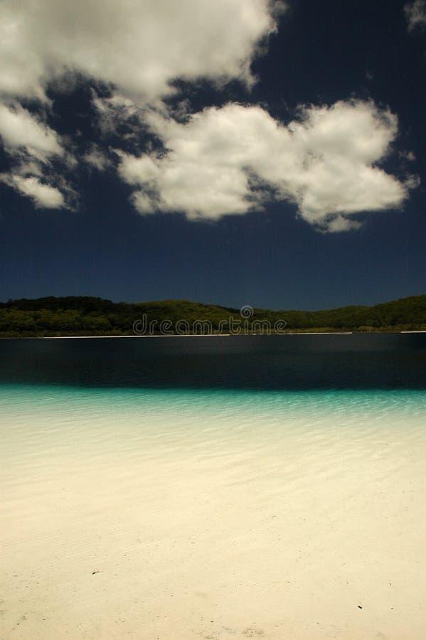 McKanzie lake, Fraser island stock photography