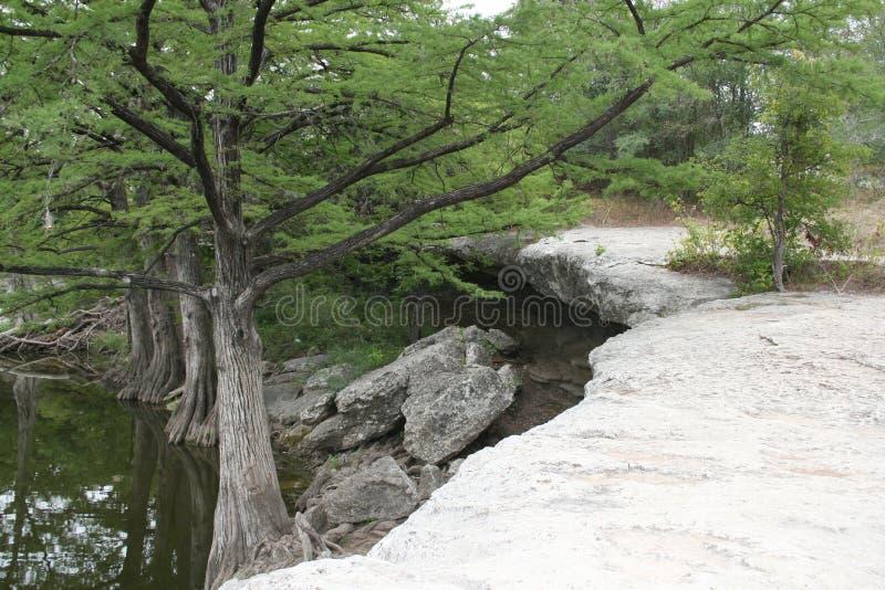 McKinney se cae Texas State Park fotografía de archivo