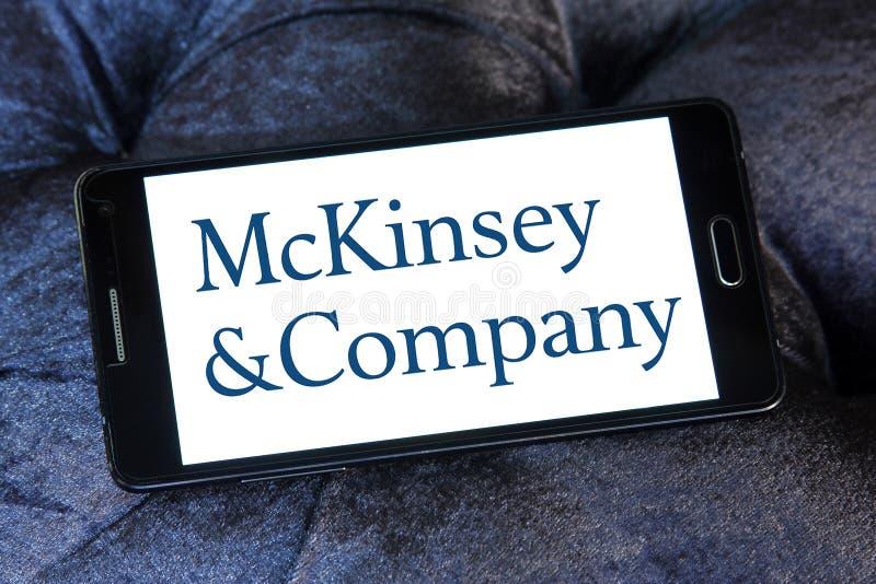 McKinsey & Company商标 免版税图库摄影