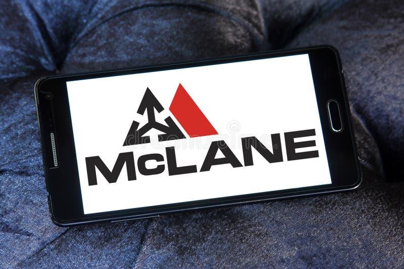 mcLane Firma logo zdjęcia stock