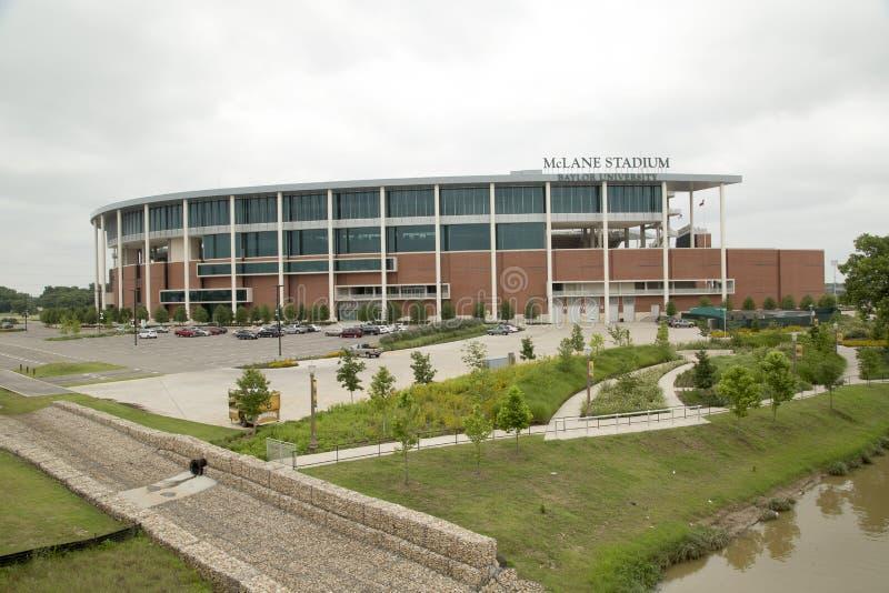 McLane stadionyttersida royaltyfri foto