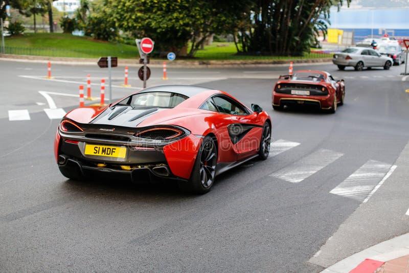 McLaren 540c royalty-vrije stock afbeelding